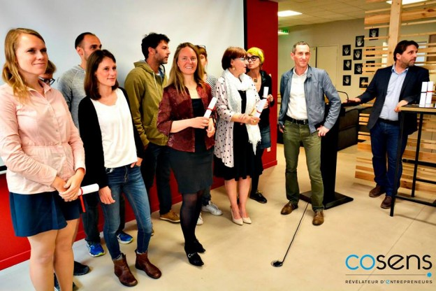 1er promotion certification entrepreneur TPE